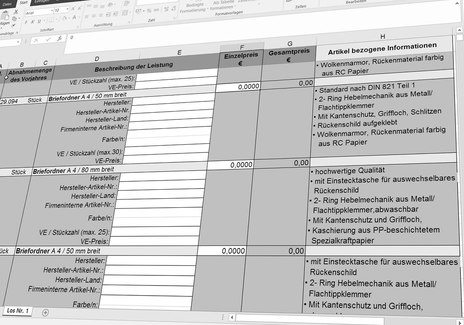 RIB Excel-LV